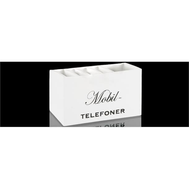 HOLDER TIL MOBILTELEFONER, 18 X 10 X 7,5 CM