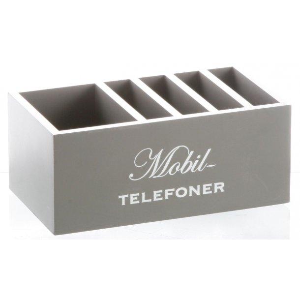 HOLDER TIL MOBIL TELEFONER, 18 X 10 X 7,5 CM