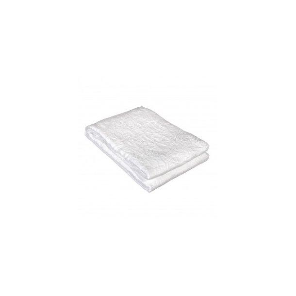 CAROLINE DUK, HVIT, 140 x 250 CM